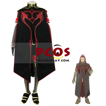 Picture of Tales Of The Abyss Asch the Bloody Cosplay Costumes For Sale mp000500