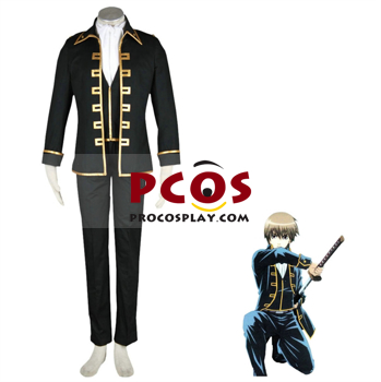 Picture of Gintama Silver Soul Isao Kondo Japanese Cosplay Costumes For Sale mp000335