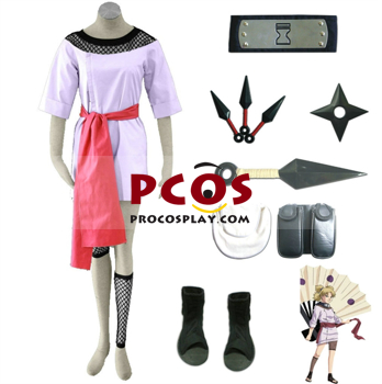 Picture of Buy Naruto Shippuden Temari Japan Anime Cosplay Costumes Online Shop mp004291