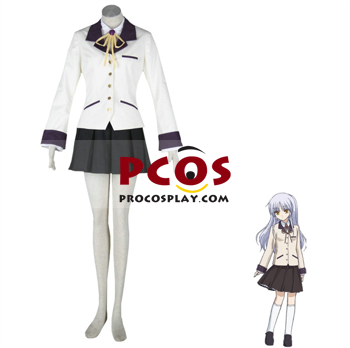 Picture of Angel Beats Angel/Kanade Cosplay Costumes For Sale mp000038