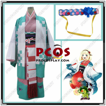 NEW Ao no Exorcist Shiemi Moriyama Cosplay Clothing Kimono Custom Made