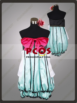Picture of Best Vocaloid Project Diva Miku Cosplay Costumes For Sale