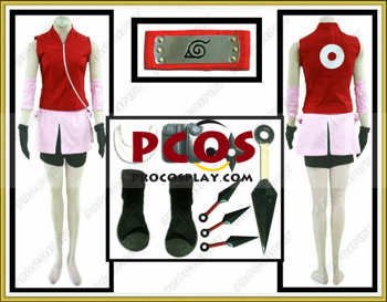 Picture of Best Naruto Shippuden Haruno Sakura Cosplay Outfits