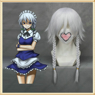 Picture of Best Touhou Project Sakuya Izayoi Cosplay Wig Online Shop mp000323