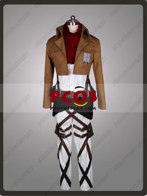 Attack On Titan Shingeki No Kyojin Mikasa Ackermann Cosplay Costume Mp000733