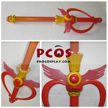 Picture of  Sailor Moon Tsukino Usagi Flower Stick Cosplay  D063