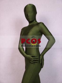 Picture of Army Green Lycra Spandex Zentai Suit A033