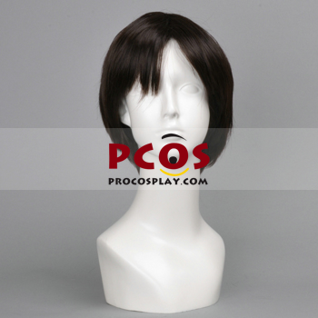 Picture of Attack on Titan Shingeki no Kyojin Levi Rivaille Cosplay Wig mp000838