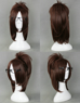 Picture of Attack on Titan Shingeki no Kyojin Hanji Zoe Cosplay Wig mp000771