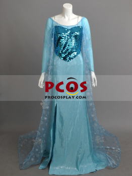 Picture of Frozen Elsa  Snow Queen Cosplay Costume mp003905