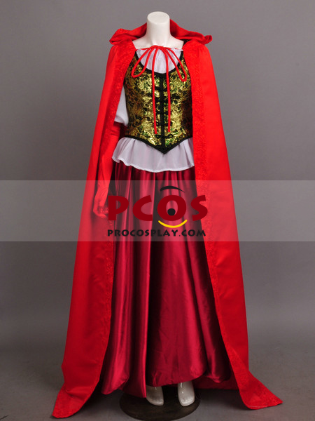 Once Upon a Time Ruby's Red Riding Hood Damask Cloak