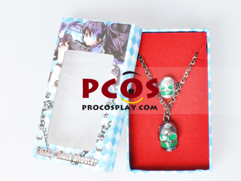 Picture of Vocaloid Black Rock Shooter Skull Necklace and Ring mp002006