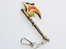Picture of  World of Warcraft Big Axe Cosplay Key Chain