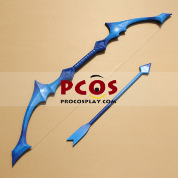 Picture of League of Lengends Ashe·The Frost Archer Cosplay Bow and Arrow mp001745