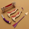 Picture of League of Lengends The Plague Rat Twitch Cosplay Bow and Arrow mp001793