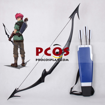 Picture of Lord Marksman and Vanadis Tigrevurmud Vorn Cosplay Bow and Arrow Set mp001849