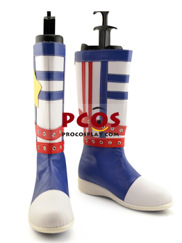Picture of Vocaloid Kagamine Rin/Len Navy Version Cosplay Shoes mp001888