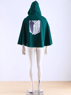 Picture of  Attack on Titan Recon Corps cloak Cosplay Costume cloak  mp001725