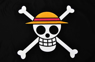 Picture of One Piece Monkey·D·Luffy Straw Hat Pirates Cosplay Flag mp001997