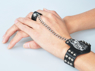 Picture of Final Fantasy VII Cloud Strife Tiger Head Cosplay Bracelet and Ring  mp001999