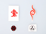 Picture of Naruto Cosplay Temporary Tattoos Set mp002015