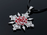 Picture of Vampire Knight Kuran Yuki Cosplay Rose Necklace mp002241
