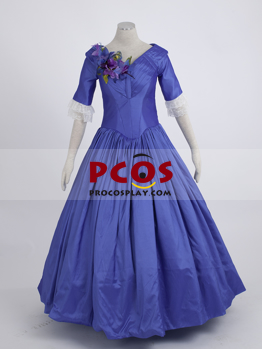 Picture of Film The Young Victoria Blue Cosplay Court Dress mp002344