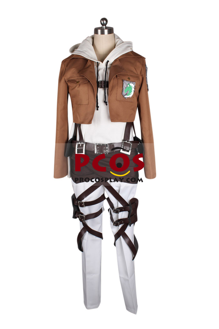 Attack on Titan Shingeki no Kyojin Military Police Annie Leonheart Cosplay Costume. - Best ...