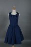 Picture of Lolita Blue Cosplay Sleeveless Dress mp002770