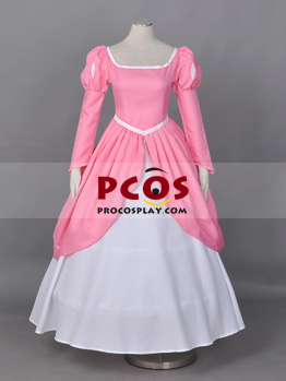Professional Disney The Little Mermaid Princess Ariel Cosplay Costume Pink Dress For Sale Best Profession Cosplay Costumes Online Shop