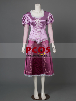 Picture of New Tangled Princess  Rapunzel Cosplay Costume mp002931