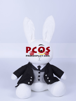 Picture of Black Butler Book of Circus Sebastian Michaelis Cosplay Rubbit Plush Doll mp003018