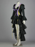 Picture of Anime Vocaloid Miku Doujin Cosplay Dress Costumes for Sale Black
