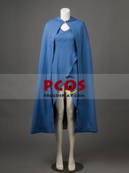 Game of Thrones Daenerys Targaryen Blue Dress Cosplay Costume Custom mp002928