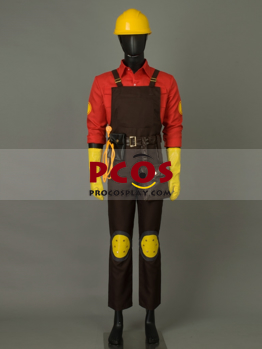 Team Fortress 2 Engineer Cosplay Costume Best Profession Cosplay