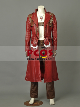 Devil May Cry 4 Dante Cosplay Costume Mp002685