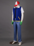 Picture of Pokemon Pocket Monster Ash Ketchum Cosplay Costume mp003358