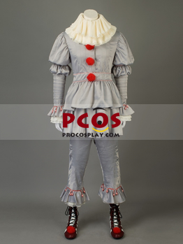 Picture of It (2017 film) Pennywise The Dancing Clown Cosplay Costume mp003732