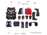 Picture of Thor:The Dark World Thor Cosplay Costume mp003862