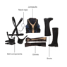 Picture of Deadpool 2 Domino Nina Thurman Cosplay Costume mp003993