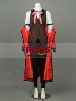Picture of Ready to Ship Black Butler-Kuroshitsuji Grell Sutcliff Cosplay Costume mp003219