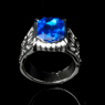 Picture of Ready to Ship Black Butler Ciel Phantomhive Ring ⅡCosplay mp000722