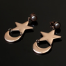 Picture of Ready to Ship Sailor Moon Usagi Tsukino Cosplay Star and Moon Crystal Earrings mp002090