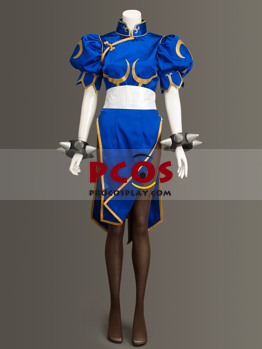 Picture of Street Fighter V Chun Li Cosplay Costume Upgraded Version mp004041