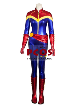 Picture of Captain Marvel Ms. Marvel Carol Danvers Comic Version Cosplay Costume mp004040