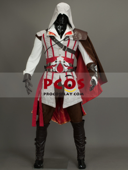 Ready To Ship Best Assassin S Creed Ii Ezio Auditore Da Firenze Cosplay Costume For Sale Mp000169 Best Profession Cosplay Costumes Online Shop
