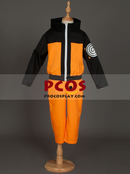 Picture of Naruto Uzumaki Cosplay Costumes For Kids Awesome Japan mp002181