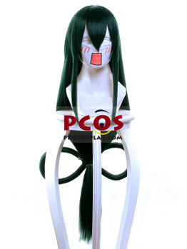 Picture of My Hero Academia Asui Tsuyu Cosplay Wig mp004159