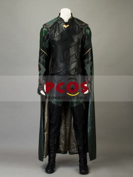 Picture of Thor:Ragnarok Loki Laufeyson Cosplay Costume mp003771 Without Cape