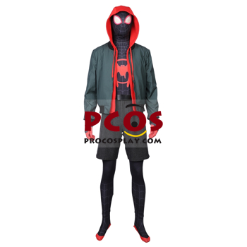 Picture of Spider-Man: Into the Spider-Verse Miles Morales Cosplay Costume mp004267